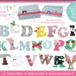 cake star alphabet